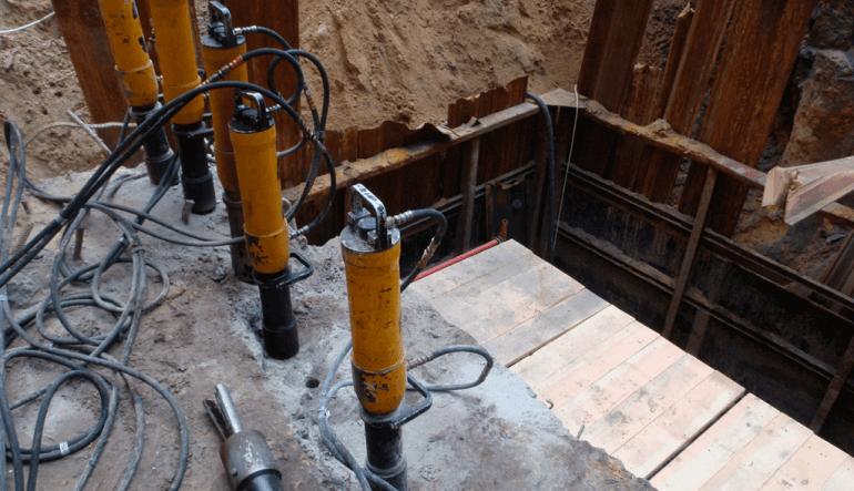 Демонтаж бетона и скальных пород в Запорожье